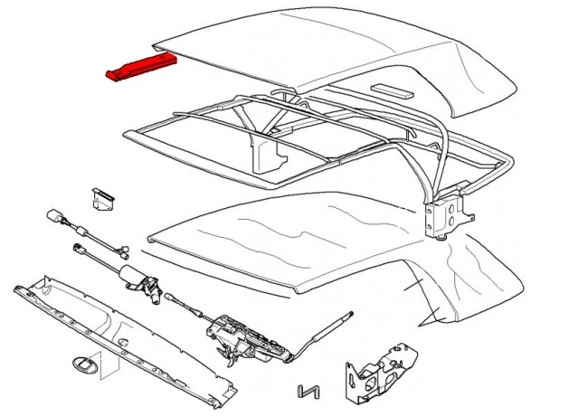 Bmw 3-Series E46 (1999-2006) - Convertible Parts - Page 3 inside 2002 Bmw 325I Parts Diagram