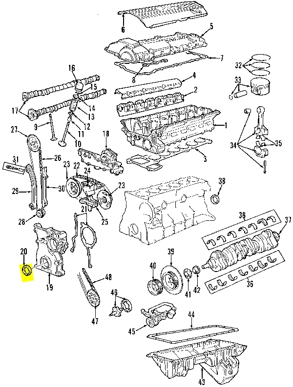 Bmw E46 Engine Wiring Harness Diagram 1995 Z28 A4 Wiring intended for 2002 Bmw 325I Parts Diagram