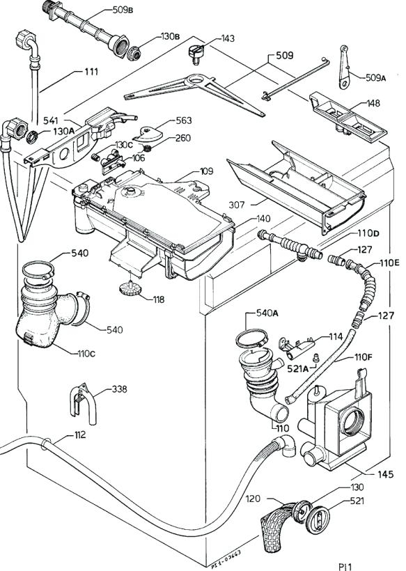 Bosch Dishwasher Parts Schematic Bosch Refrigerator Parts List with regard to Bosch Exxcel Dishwasher Parts Diagram