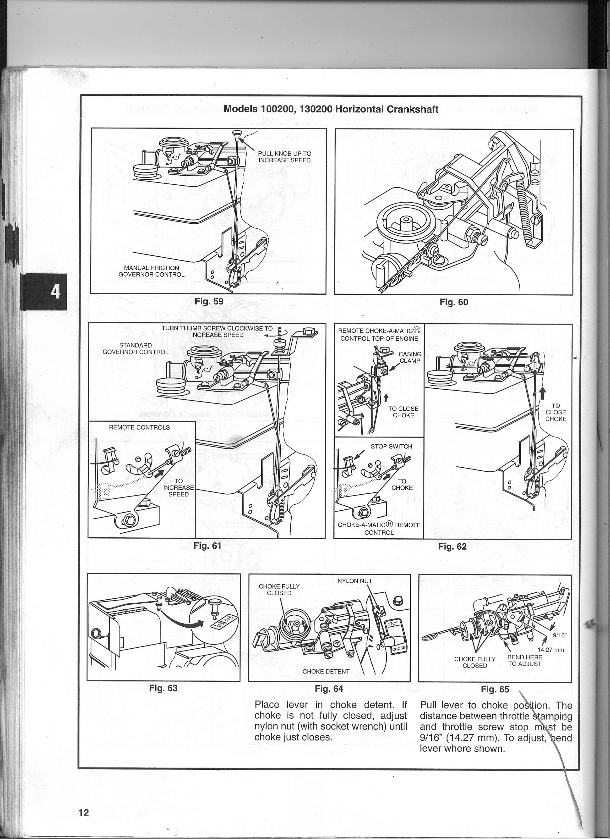 Briggs And Stratton Throttle Linkage Diagram] Carburetor Governor for Briggs And Stratton Vanguard Parts Diagram