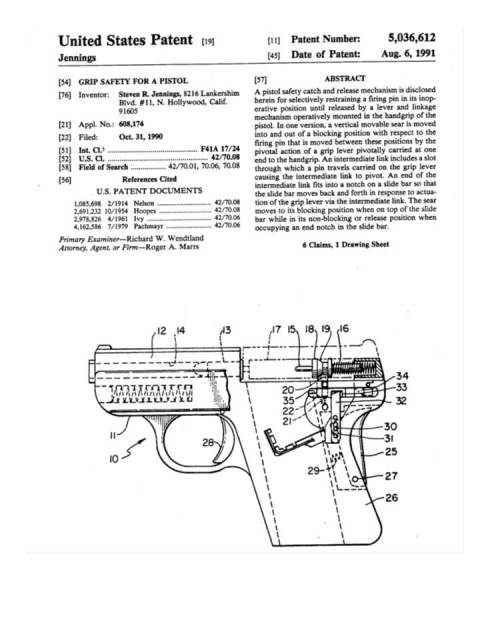 Bryco-Jennings-Jimenezarms • View Topic - Patents For Jennings for Jennings J 22 Parts Diagram
