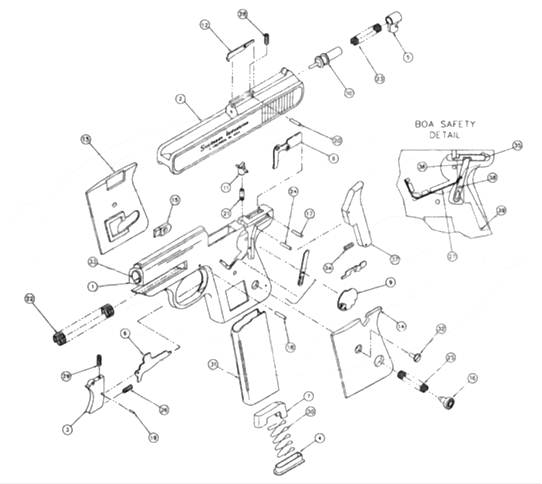 Bryco-Jennings-Jimenezarms • View Topic - Sundance Boa with Jennings J 22 Parts Diagram