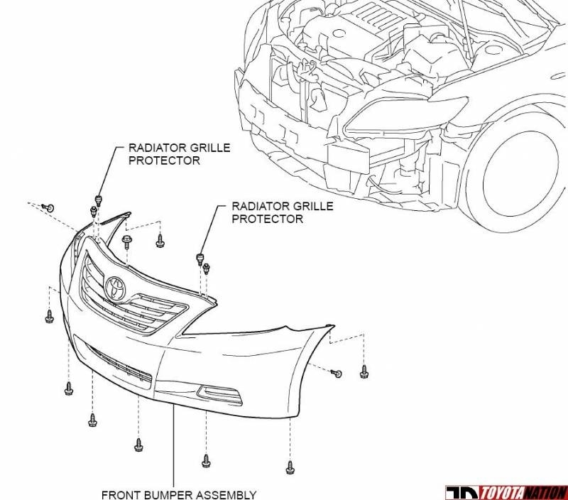 can somebody show me diagram how to take off the front bumper in toyota camry body parts diagram. Black Bedroom Furniture Sets. Home Design Ideas