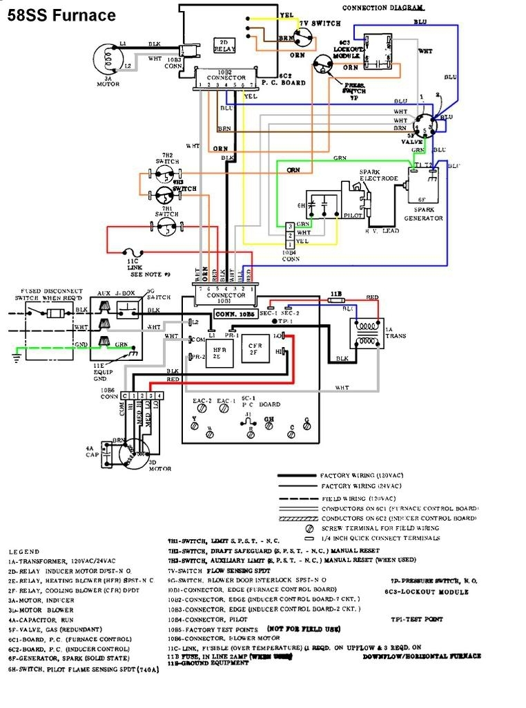 Carrier 58Ssb Won't Light. - Doityourself Community Forums inside Carrier Weathermaker 8000 Parts Diagram