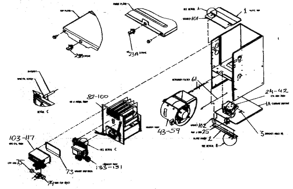 Carrier Furnace Parts | Model 58Mtb060F10112 | Sears Partsdirect with Carrier Weathermaker 8000 Parts Diagram