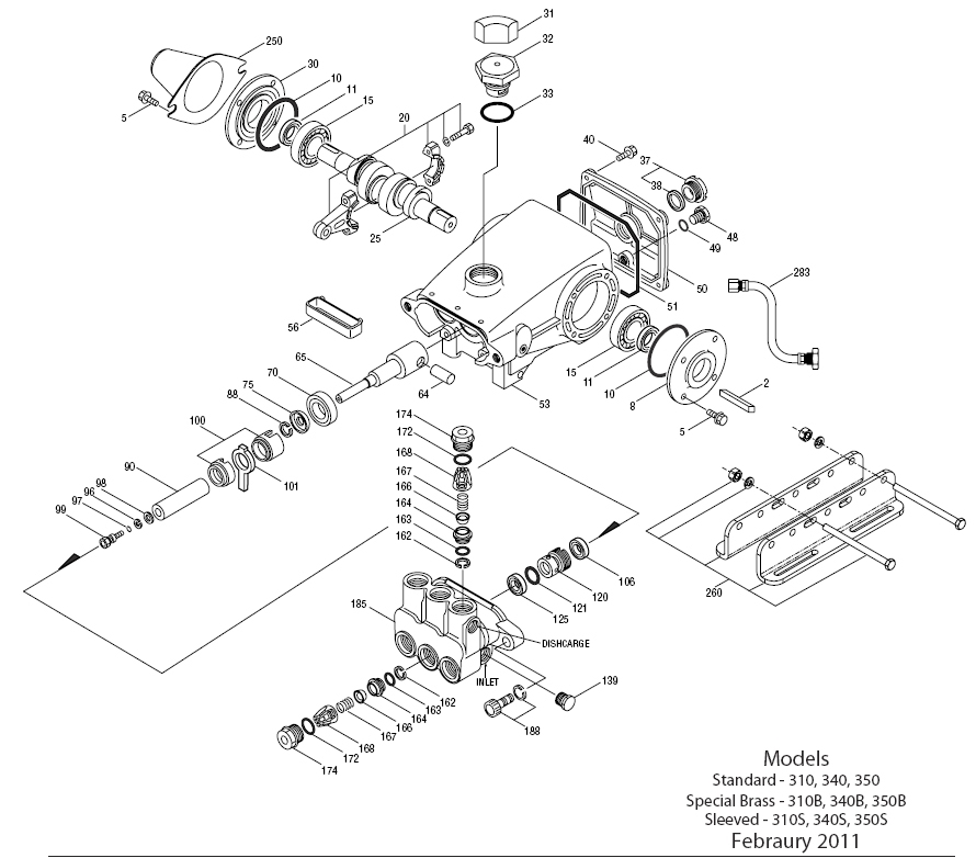 Cat Pressure Washer Pump 340W - Ets Company Pressure Washers And More within Honda Pressure Washer Parts Diagram