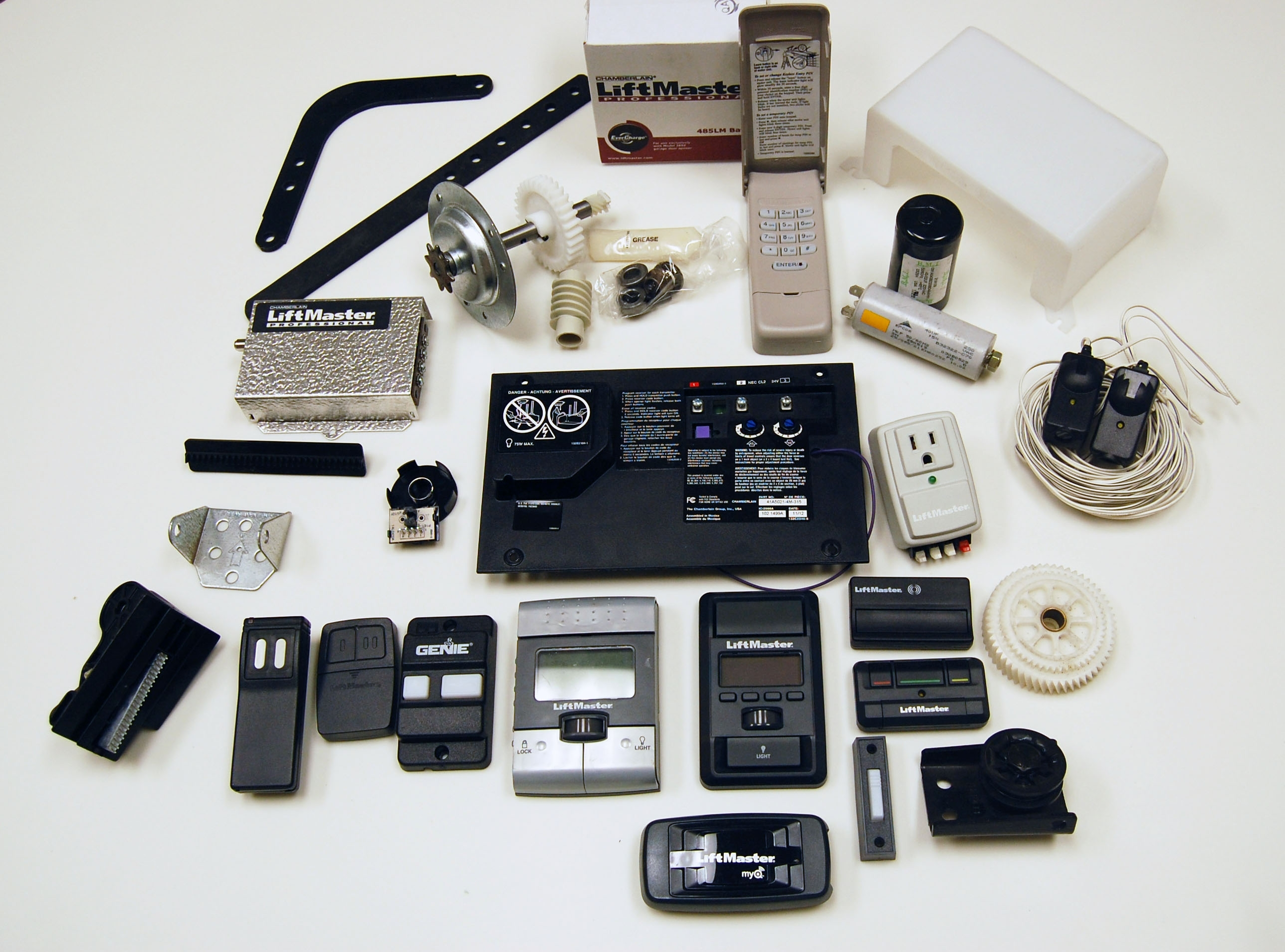 Chamberlain Liftmaster Garage Door Opener Parts Regarding inside Liftmaster Garage Door Opener Parts Diagram