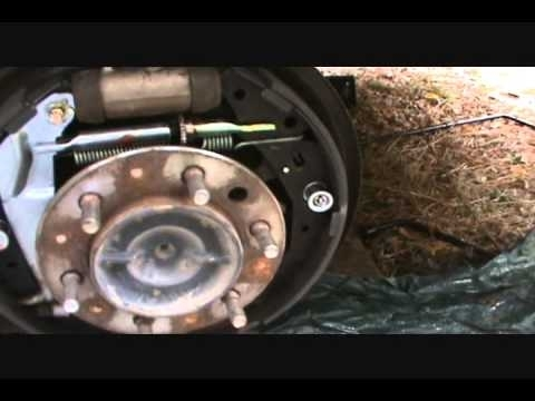 Change Brake Shoes 2003 Tundra - Youtube with regard to 2000 Toyota Tundra Parts Diagram