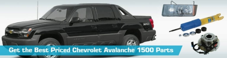 Chevrolet Avalanche 1500 Parts - Partsgeek for 2002 Chevy Avalanche Parts Diagram