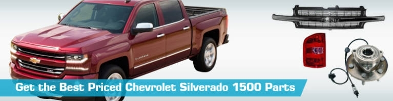 Chevrolet Silverado 1500 Parts - Partsgeek pertaining to 2002 Chevy Silverado Parts Diagram