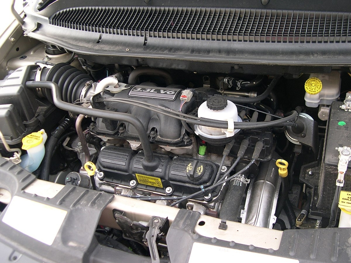 Chrysler 3.3 & 3.8 Engine - Wikipedia inside Chrysler Town And Country Parts Diagram