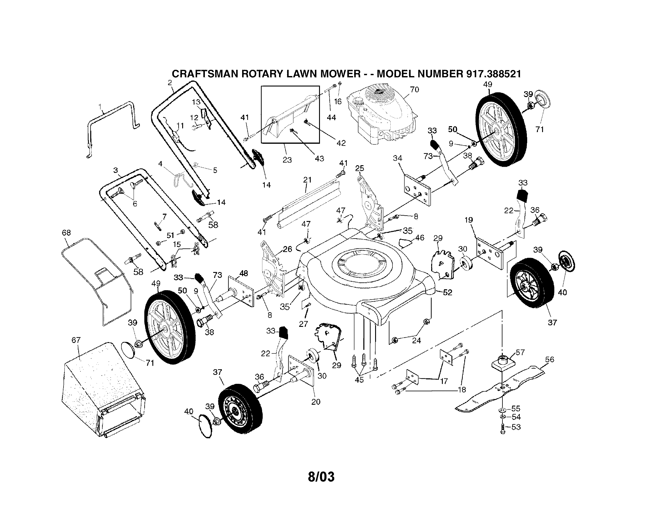 Component. Diagram Of Lawn Mower Engine: Diagram Of A Honda Lawn regarding Briggs And Stratton Lawn Mower Parts Diagram