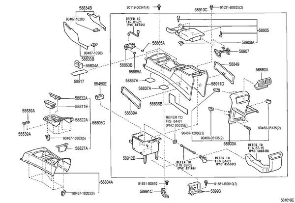 Console Lid Compartment - Toyota 4Runner Forum - Largest 4Runner Forum intended for 2000 Toyota 4Runner Parts Diagram