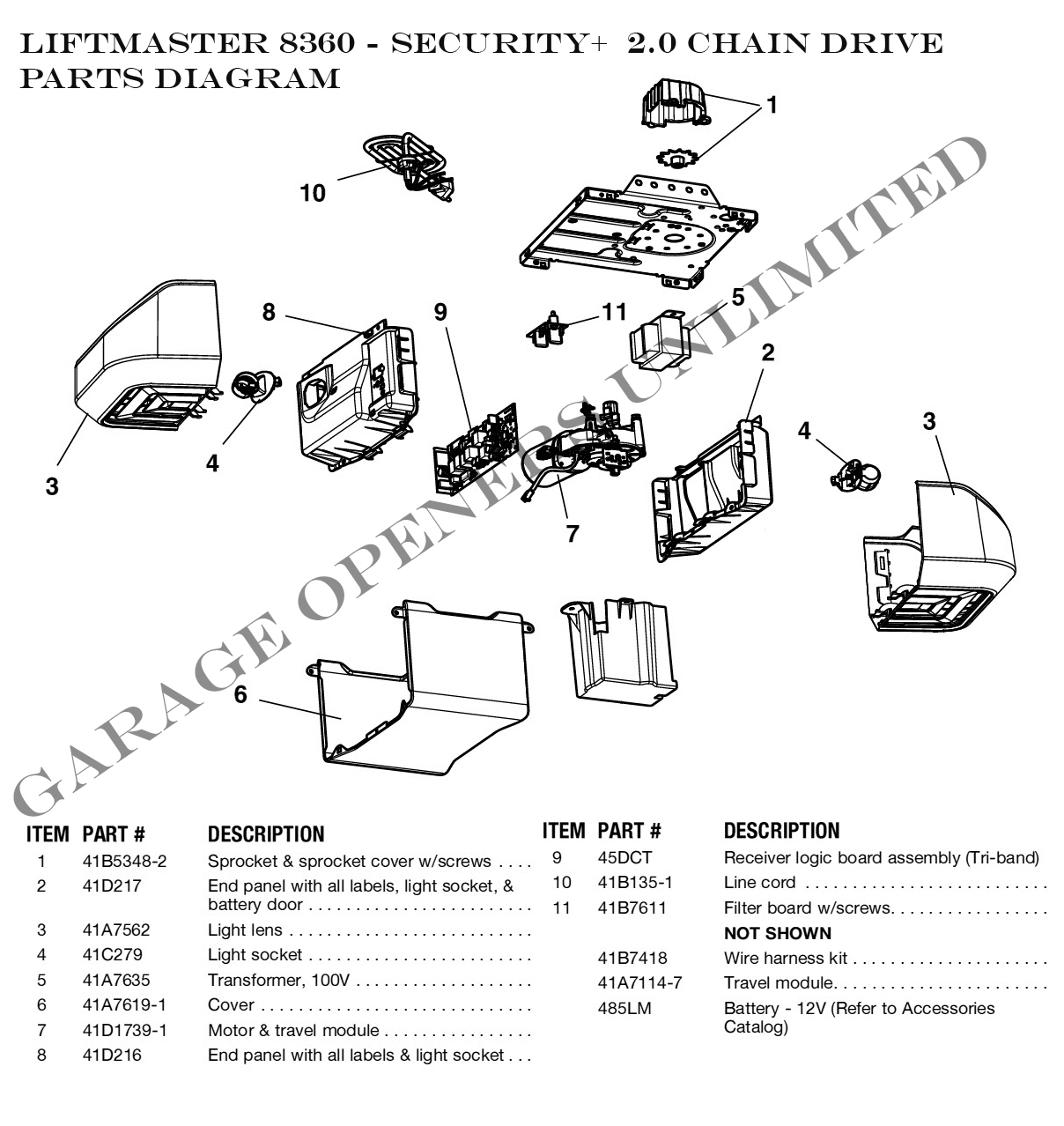 Craftsman Garage Door Opener Parts Of Cool Sears Manual Springs for Liftmaster Garage Door Opener Parts Diagram
