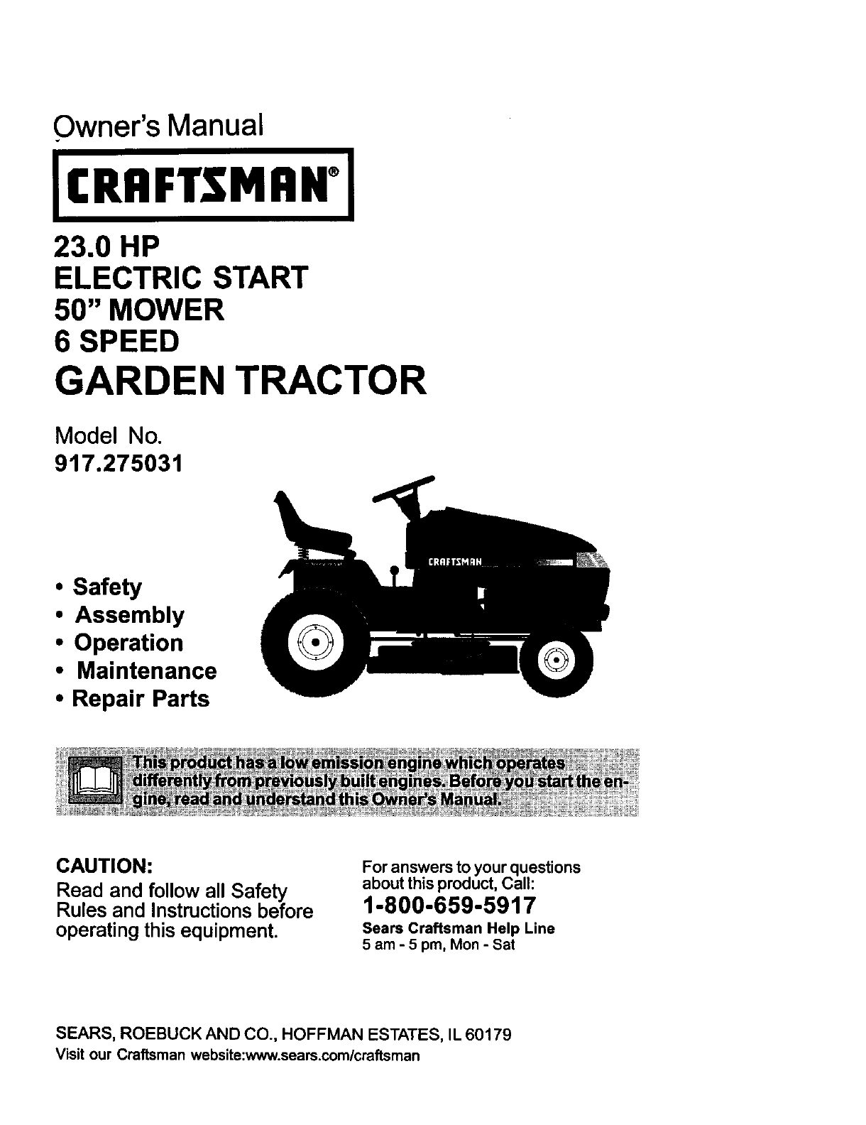 Craftsman Garden Tractor Parts Sears Manual Lawn Mower Parts intended for Craftsman Riding Lawn Mower Parts Diagram