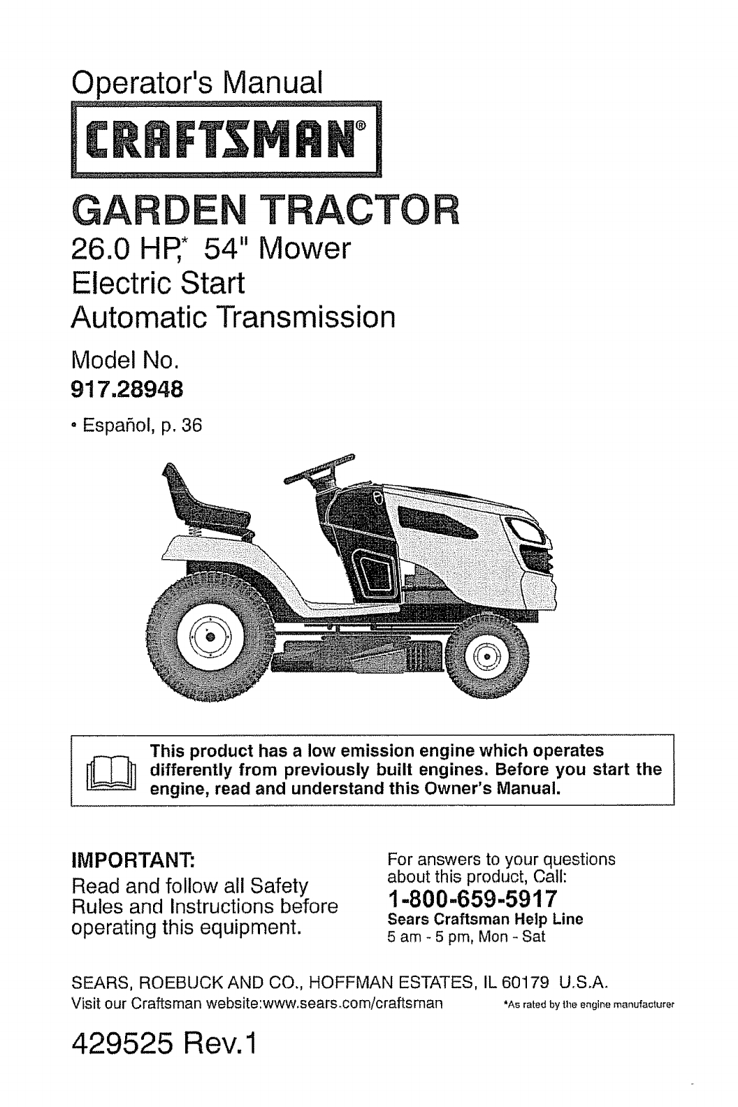Craftsman Mower Part Riding Lawn Tractor : Craftsman riding lawn mower parts diagram automotive
