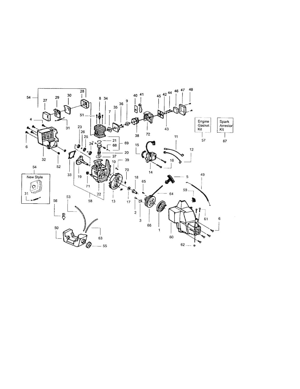 Craftsman Poulan/weed Eater Parts | Model 358798212 | Sears pertaining to Craftsman 32Cc Weed Wacker Parts Diagram