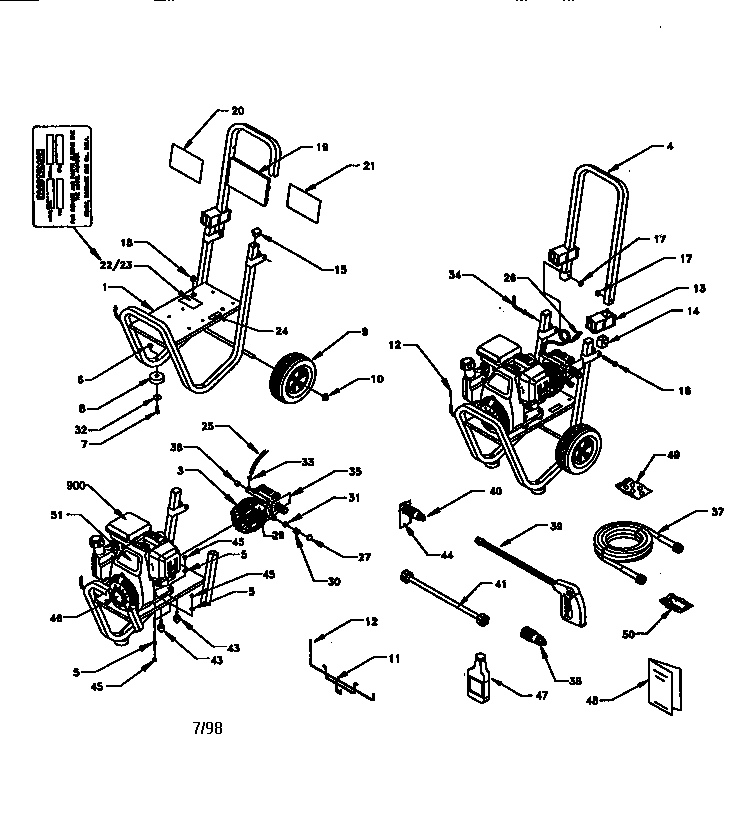 Craftsman Pressure Washer Parts | Model 580762010 | Sears Partsdirect intended for Craftsman Pressure Washer Parts Diagram