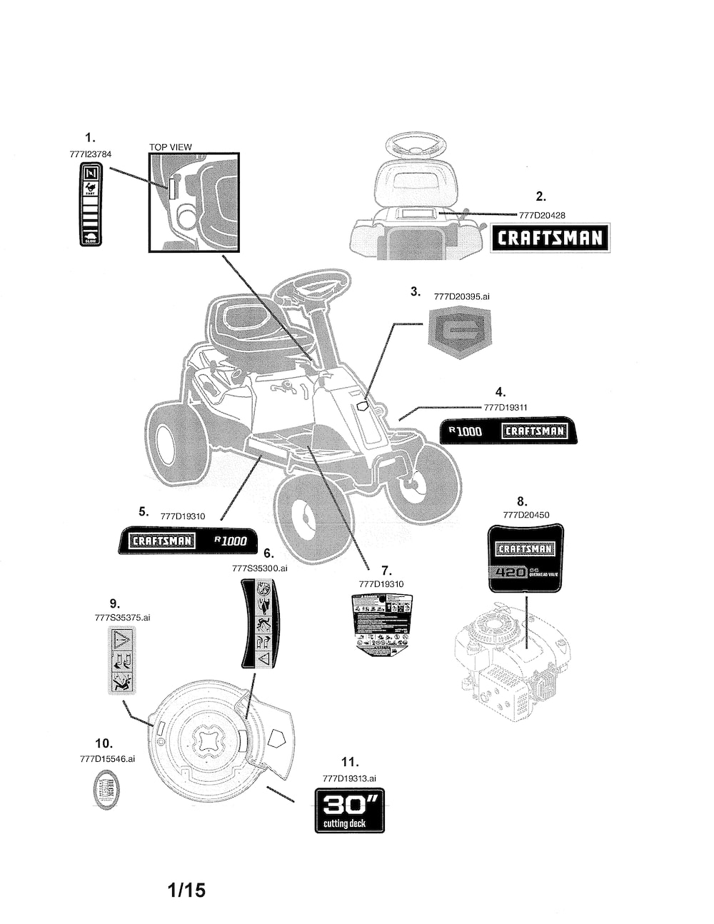 Wiring Diagram For Predator 670 in addition Predator 212cc Engine Wiring Diagram likewise Craftsman 4200 Generator Parts moreover Engine Assembly 1p61p0 further 00003. on 420cc engine diagram