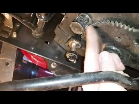 Craftsman Tractor Gt 6000 Bad Steering Fix - Youtube with Craftsman Gt 5000 Parts Diagram