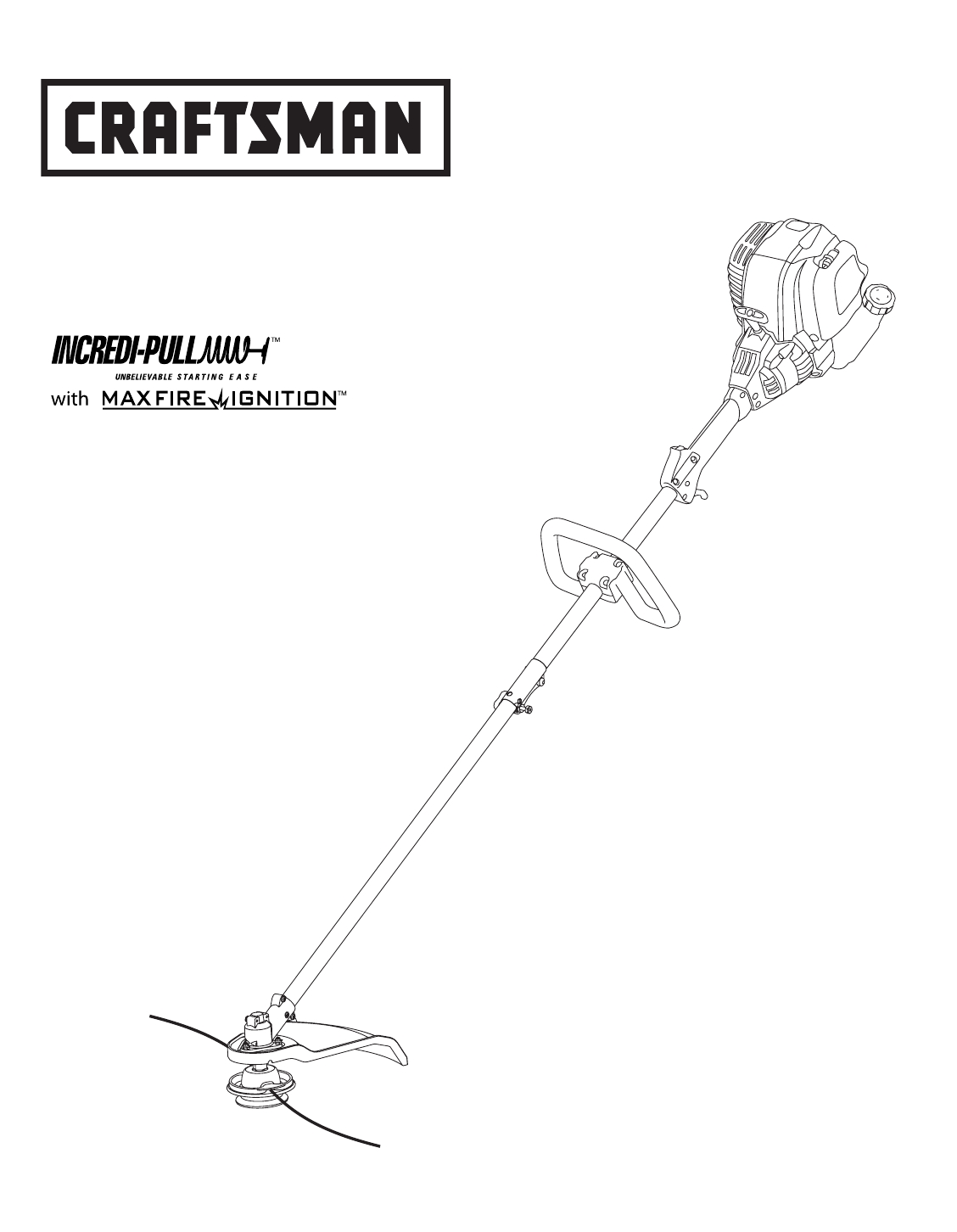 Craftsman Trimmer 316.79617 User Guide | Manualsonline with Craftsman 32Cc Weed Wacker Parts Diagram