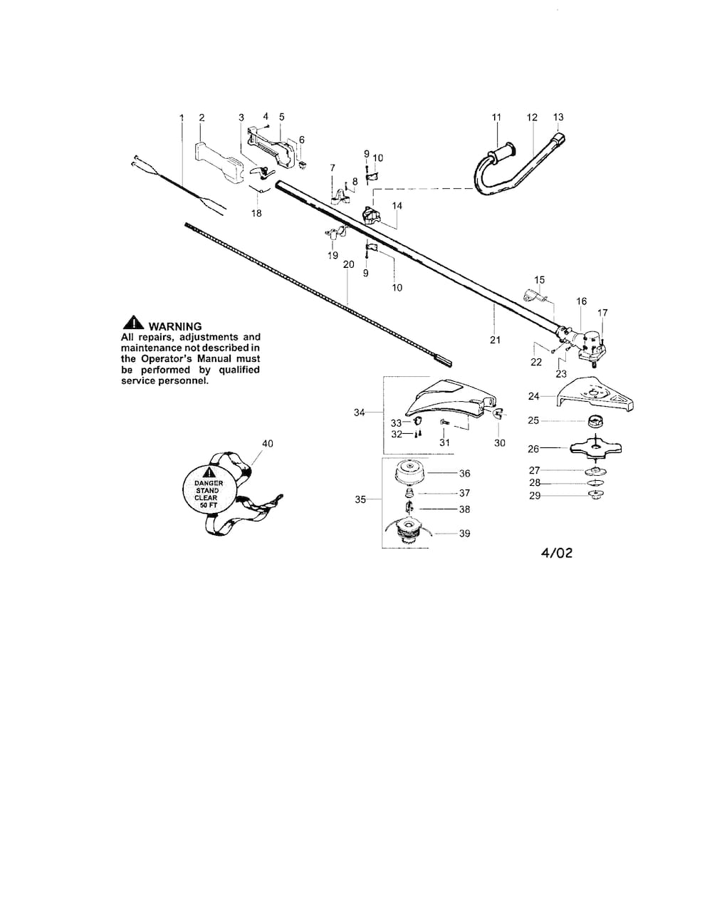 Craftsman Weedeater Parts | Model 358744380 | Sears Partsdirect pertaining to Craftsman 32Cc Weed Wacker Parts Diagram