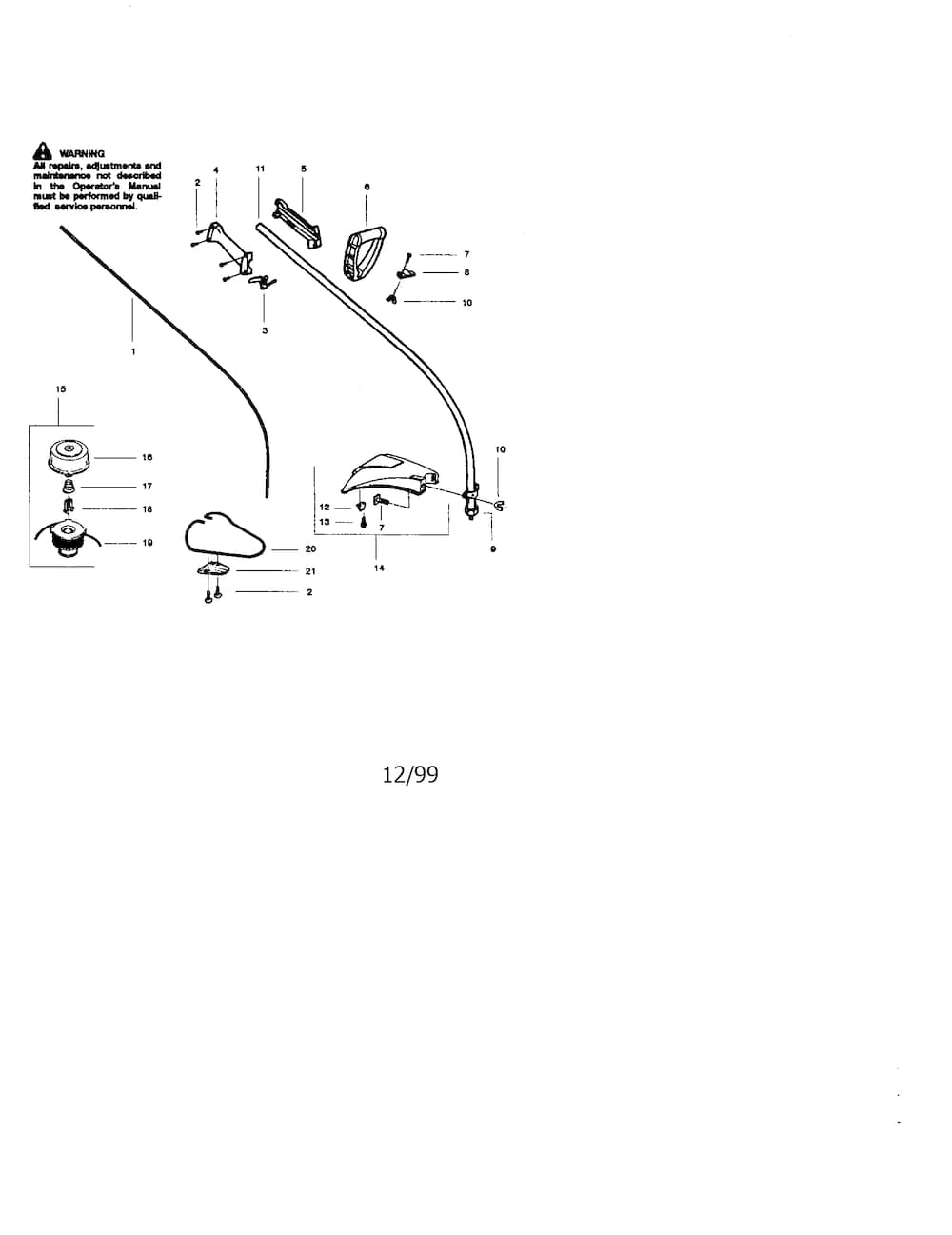 Craftsman Weedwacker Parts | Model 358795300 | Sears Partsdirect intended for Craftsman 32Cc Weed Wacker Parts Diagram