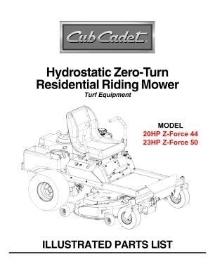 zero turn mower parts diagram