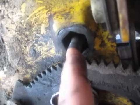 Cub Cadet Steering Fix Slt1554 Hex Bearing Replacement Pt2 - Youtube with regard to Cub Cadet Lt1042 Parts Diagram