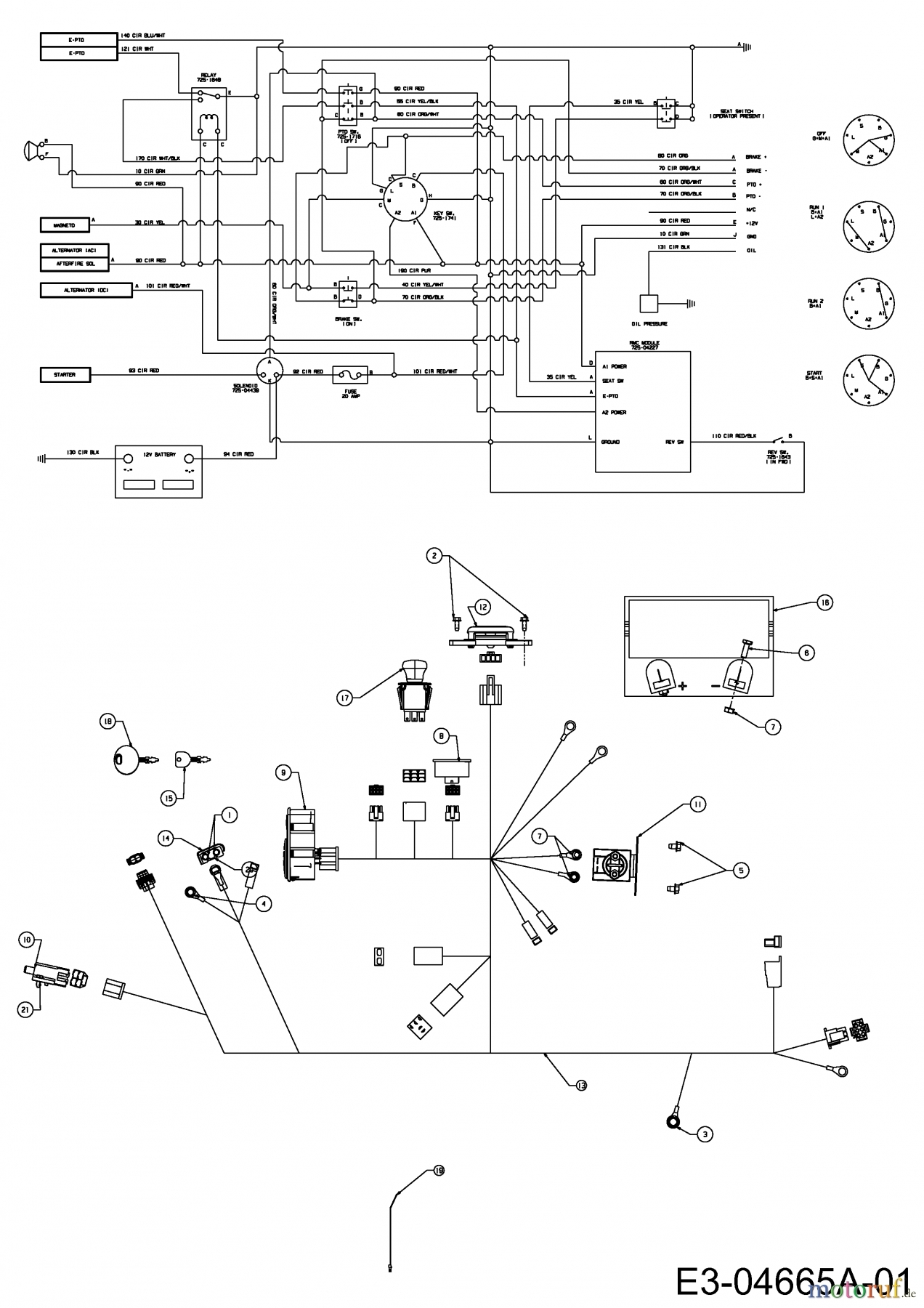 Wiring Diagram For Cub Cadet Z Force : Cub cadet wiring diagram pto