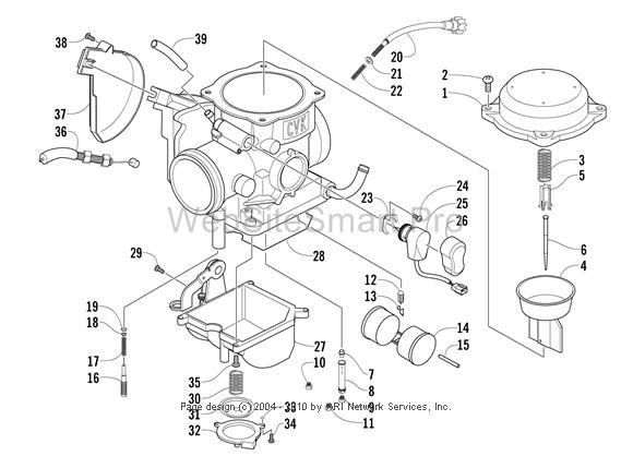Cvk Carb Diagram - Arcticchat - Arctic Cat Forum pertaining to Arctic Cat Atv Parts Diagram