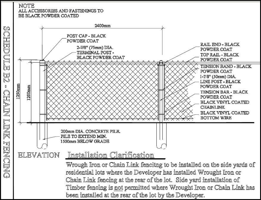 diagram of chain link fence block diagram of is 95 forward link cyclone fencing - destroybmx inside chain link fence parts ...