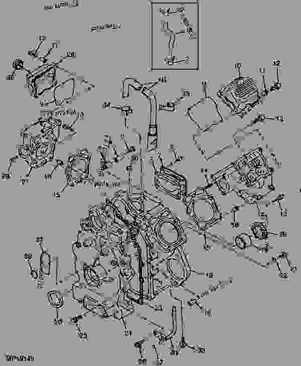 john deere gator parts diagram