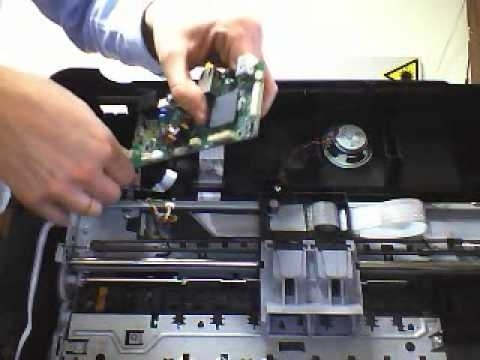 Desmontar  Disassembly Officejet 4500 - Youtube pertaining to Hp Officejet 4500 Parts Diagram