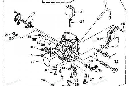 Diagram Of Yamaha Atv Parts 2004 Big Bear 400 4X4 Yfm40Fs Front intended for Yamaha Kodiak 400 Parts Diagram
