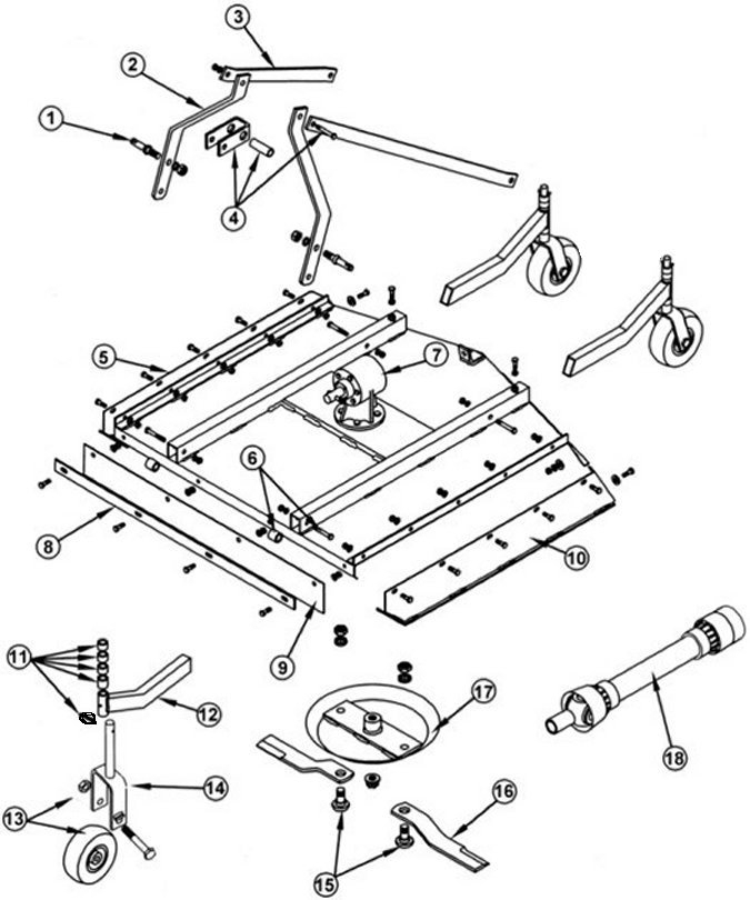 Dial-48-40-Xb for King Kutter Tiller Parts Diagram