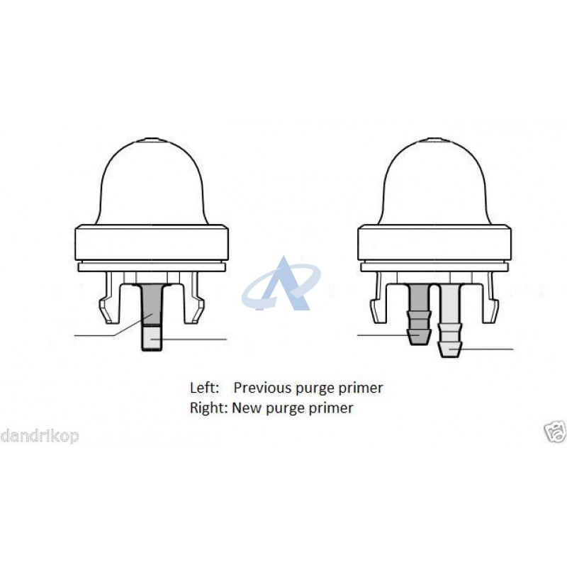 Dla Engine Parts - Primer Bulb For Stihl Br500 Br550 Br600, Ts400 within Stihl Br 600 Parts Diagram