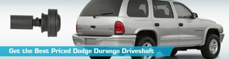Dodge Durango Driveshaft - Driveshafts - A1 Cardone Dorman - 2001 throughout 2000 Dodge Durango Parts Diagram