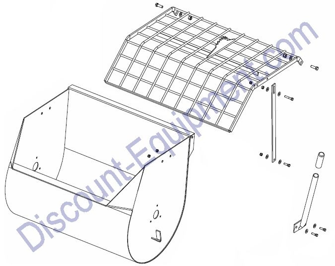 Drum Assembly - Discount Equionebt Rental pertaining to Stone Mortar Mixer Parts Diagram