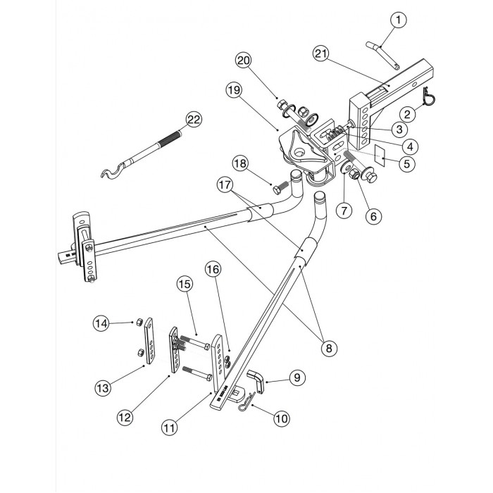 E2 Hitch intended for Weight Distribution Hitch Parts Diagram