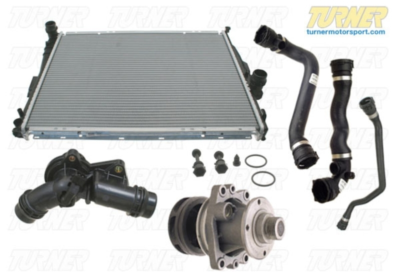 E46Coolingpack - Complete Cooling System Overhaul Package - 1999 inside 2000 Bmw 323I Parts Diagram