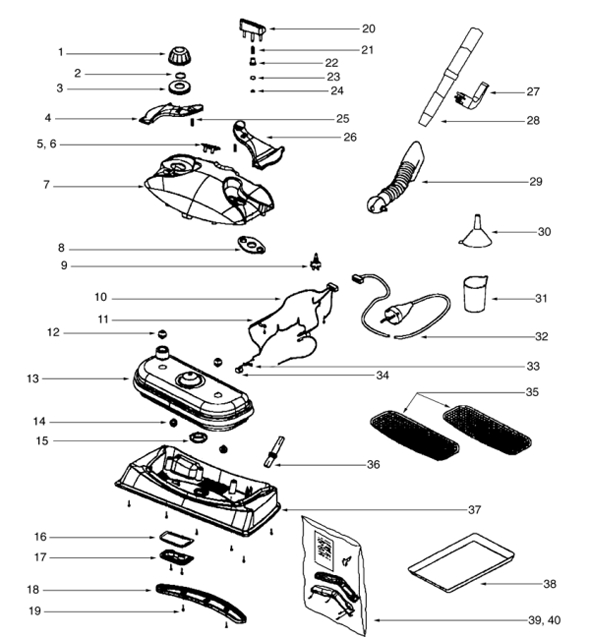 Shark Steam Mop Parts Diagram Automotive Parts Diagram