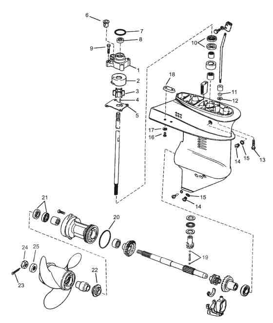 mercury outboard water pump parts diagram mercury auto wiring diagram Johnson Outboard Motor Diagram 25 HP Johnson Wiring-Diagram