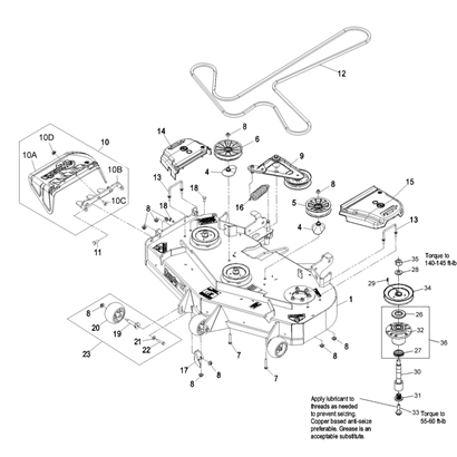 exmark lazer z belt diagram