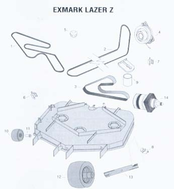Exmark Parts Diagram | Wiring Diagram And Fuse Box Diagram regarding Exmark Lazer Z Parts Diagram