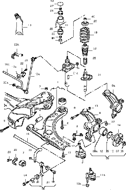 Exploded Diagrams, Part Numbers, Gooood Stuff :) - Newbeetle pertaining to Vw New Beetle Parts Diagram