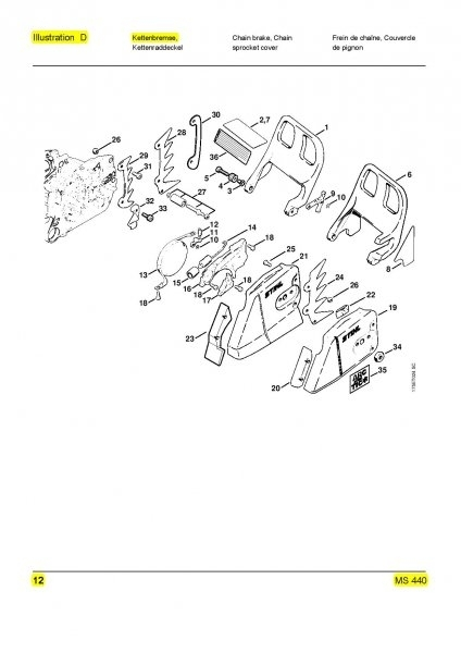 Facelift For Ms-362-C | Page 5 | Firewood Hoarders Club with regard to Stihl Ms 362 Parts Diagram