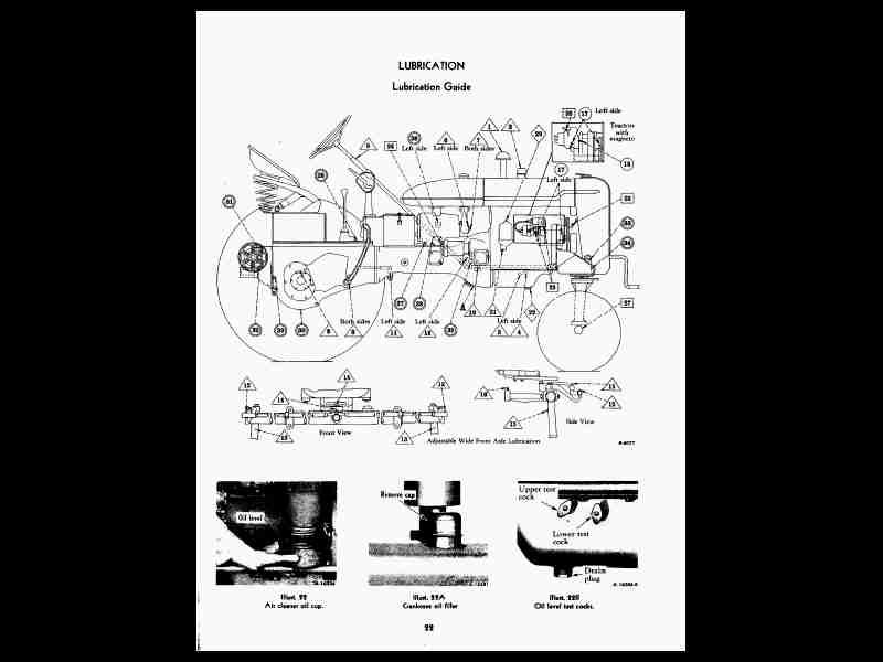 Farmall Super A Parts Diagram