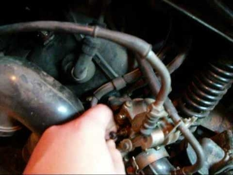 Fixed Throttle On Honda Elite 80 - Youtube in Honda Elite 80 Parts Diagram