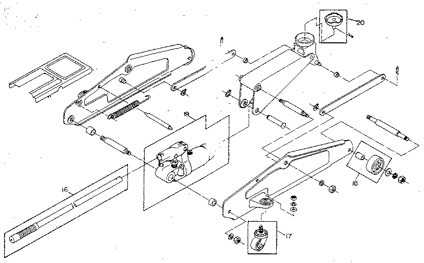 Floor Jack Parts And Ton Walker Floor Jacks Parts Diagram pertaining to Hydraulic Floor Jack Parts Diagram